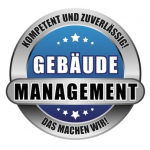 5 Star Button blau GEBÄUDE-MANAGEMENT KUZ DMW